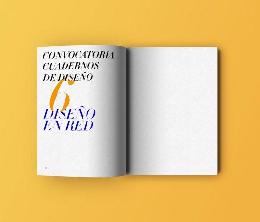 Convocatoria Cuadernos de diseño 6 - Diseño en Red
