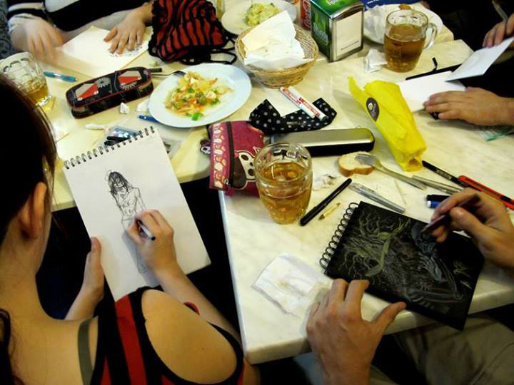 Drink and Draw Madrid - Abre el Ojo