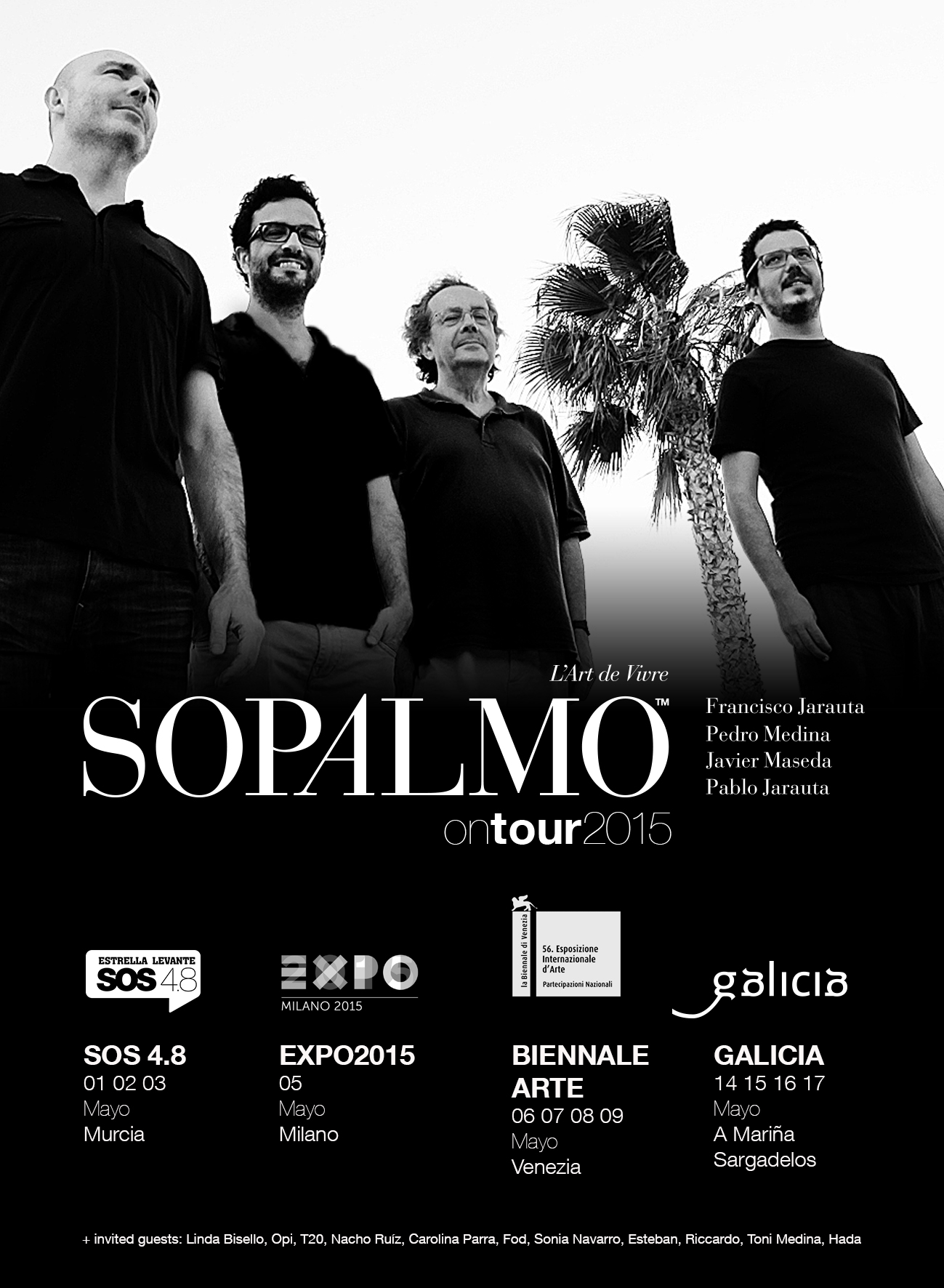 Sopalmo on Tour 2015