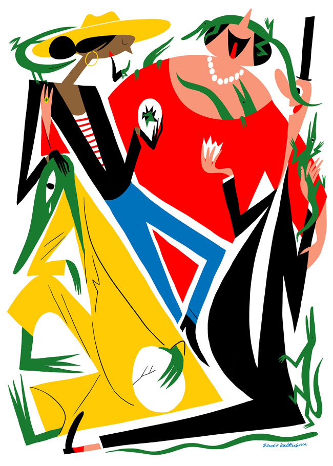 Cartel de la exposición de Bendik Kaltenbon en el IED Madrid