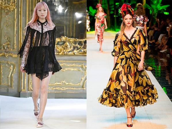 Giamba SS 2017/Dolce & Gabbana SS 2017