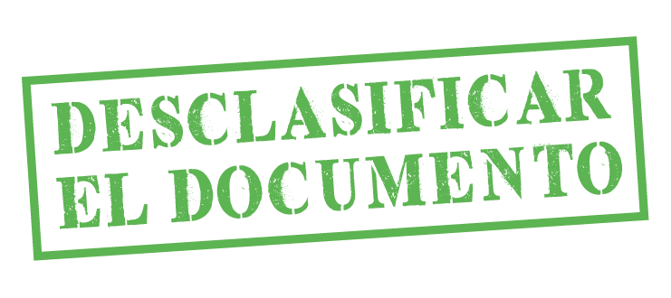 Desclasificar documento